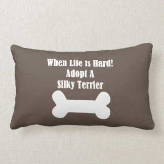 Adopte Terrier sedoso Cojín Lumbar