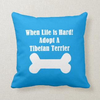 Adopte Terrier tibetano Cojín Decorativo