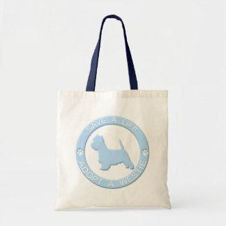 Adopte un bolso de Westie Bolsas