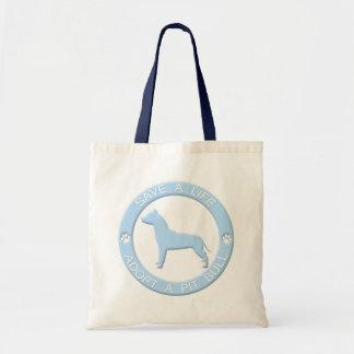 Adopte un bolso del pitbull bolsa