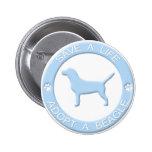 Adopte un botón del beagle pin