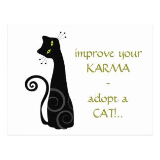 Adopte un gato postal