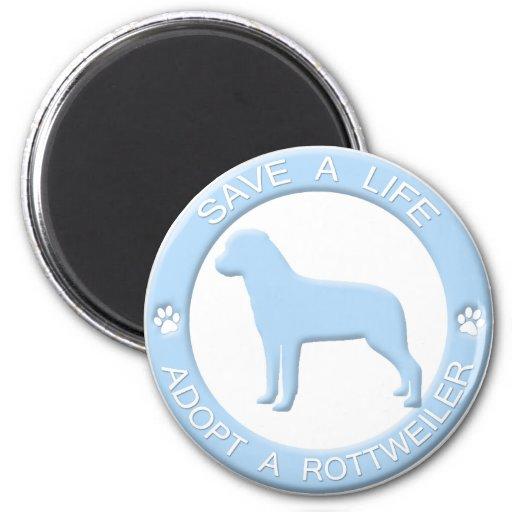 Adopte un imán de Rottweiler