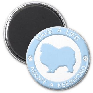 Adopte un imán del Keeshond