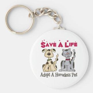 Adopte un llavero sin hogar del mascota