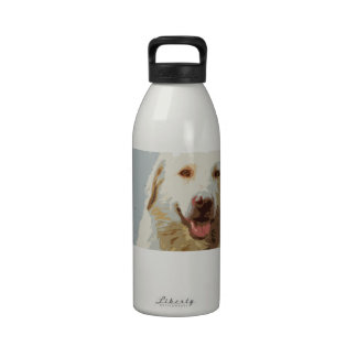 Adopte un parásito - botella de agua feliz del per