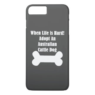 Adopte un perro australiano del ganado funda iPhone 7 plus