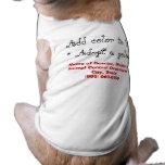 Adopte un perro del golden retriever ropa para mascota