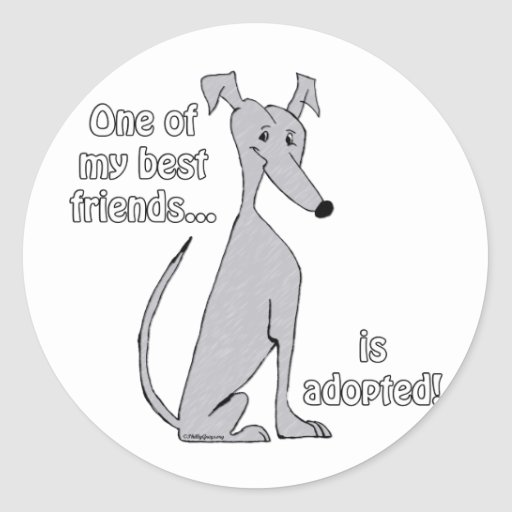 Adopted~Blue Stickers