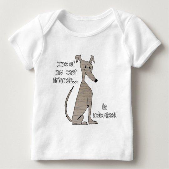 Adopted~Brindle Baby T-Shirt