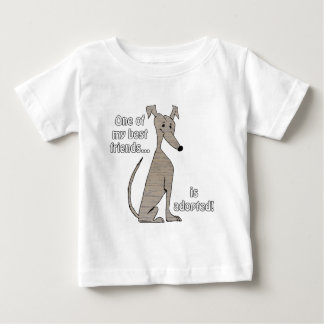 Adopted~Brindle Baby T-Shirt