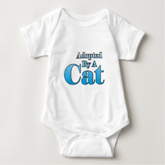 Adopted by a Cat Baby Bodysuit