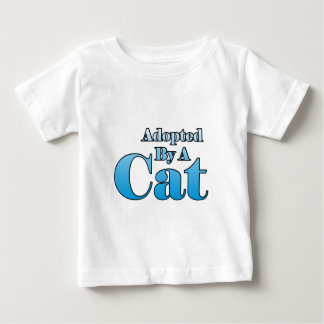 Adopted by a Cat T-shirt