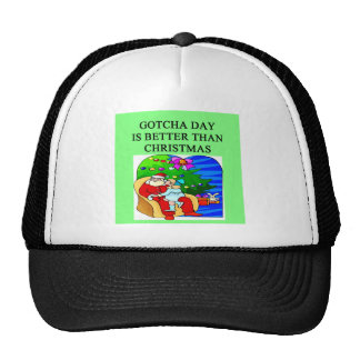 adopted daughter gotcha day trucker hat