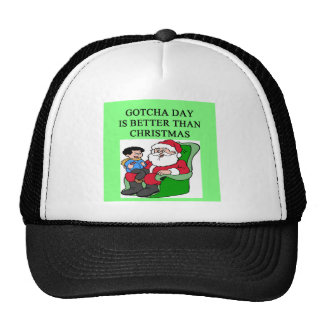 adopted son gotcha day trucker hat