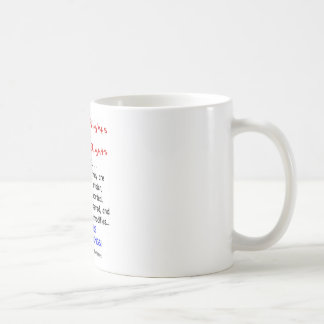 Adoptee Rights Are HUMAN Rights Classic White Coffee Mug