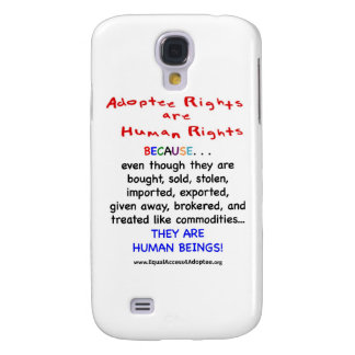 Adoptee Rights Are HUMAN Rights Samsung S4 Case