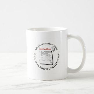 Adoptees Deserve OBCs Coffee Mugs