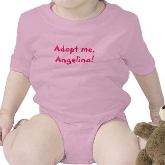 ¡Adópteme Angelina Camiseta
