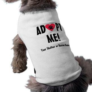 Adópteme Camisa De Perro