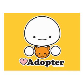 Adopter (cat) Postcard