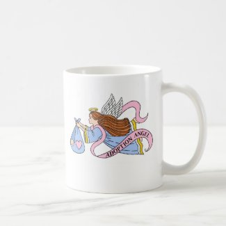 Adoption Angel Classic White Coffee Mug