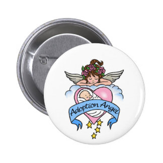 Adoption Angel of Love Buttons
