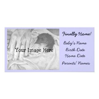 Adoption Announcement Finally Home Photo Card Template