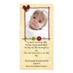 adoption announcement photocard photo cards