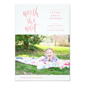 Adoption Announcement | Worth the Wait | Pink