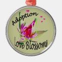 Adoption Asian Flower Ornament