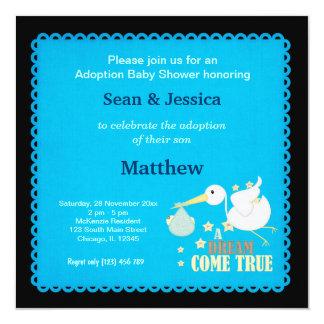 Adoption Baby Shower Boy Card