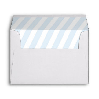 Adoption Baby Shower, matching blue lined Envelope