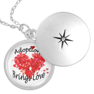 Adoption Brings Love Locket