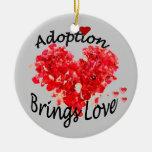 Adoption BRINGS LOVE Ornament