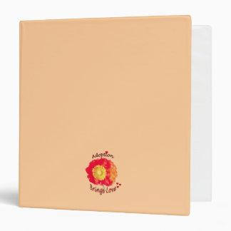 Adoption Brings Love Poppy Journal Binder