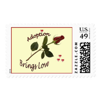 Adoption Brings LOVE Postage Stamps