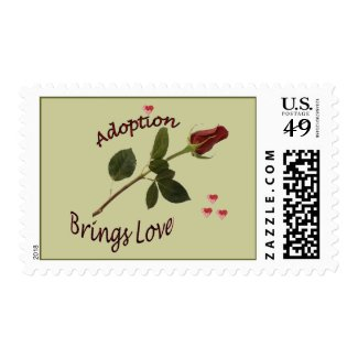 Adoption Brings LOVE Postage Stamps