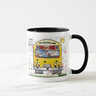 Adoption Bus Dog & Cat  Mug