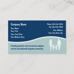 Adoption family business cards zazzle adoption business cards colourmoves