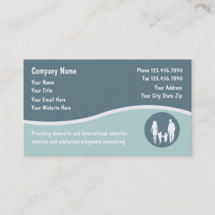 Adopted children business cards templates zazzle adoption business cards colourmoves