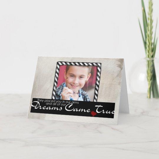 Adoption Child Greeting Card
