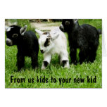 ADOPTION CONGRATS TO YOUR KID FROM US KIDS CARDS
