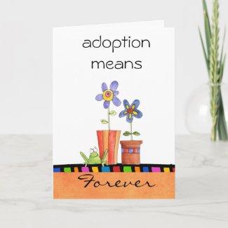 adoption congratulations card card