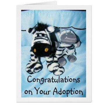 "friendshipandfun ""ADOPTION"" CONGRATULATIONS CARD"