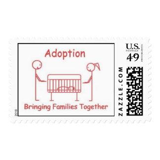 Adoption Crib Pink Postage