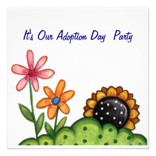 Personalized Adoption shower Invitations – Adoption Party Invitations