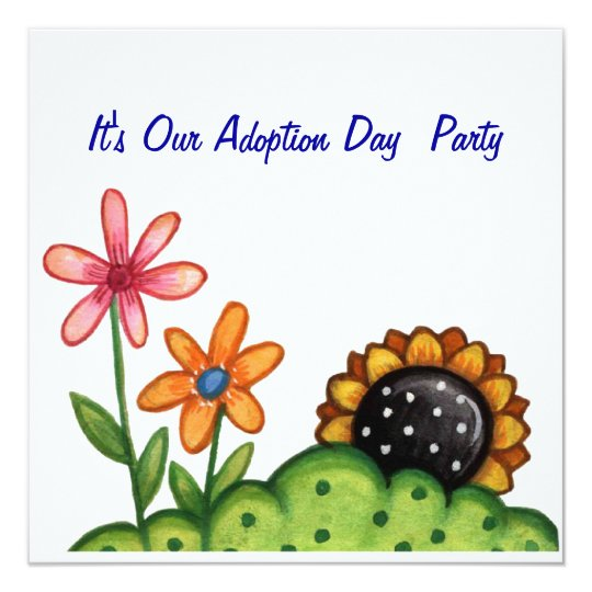 adoption day party invitation