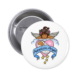 Adoption Ethnic Angel of Love Pin