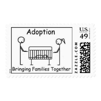 Adoption - Families Together Stamp